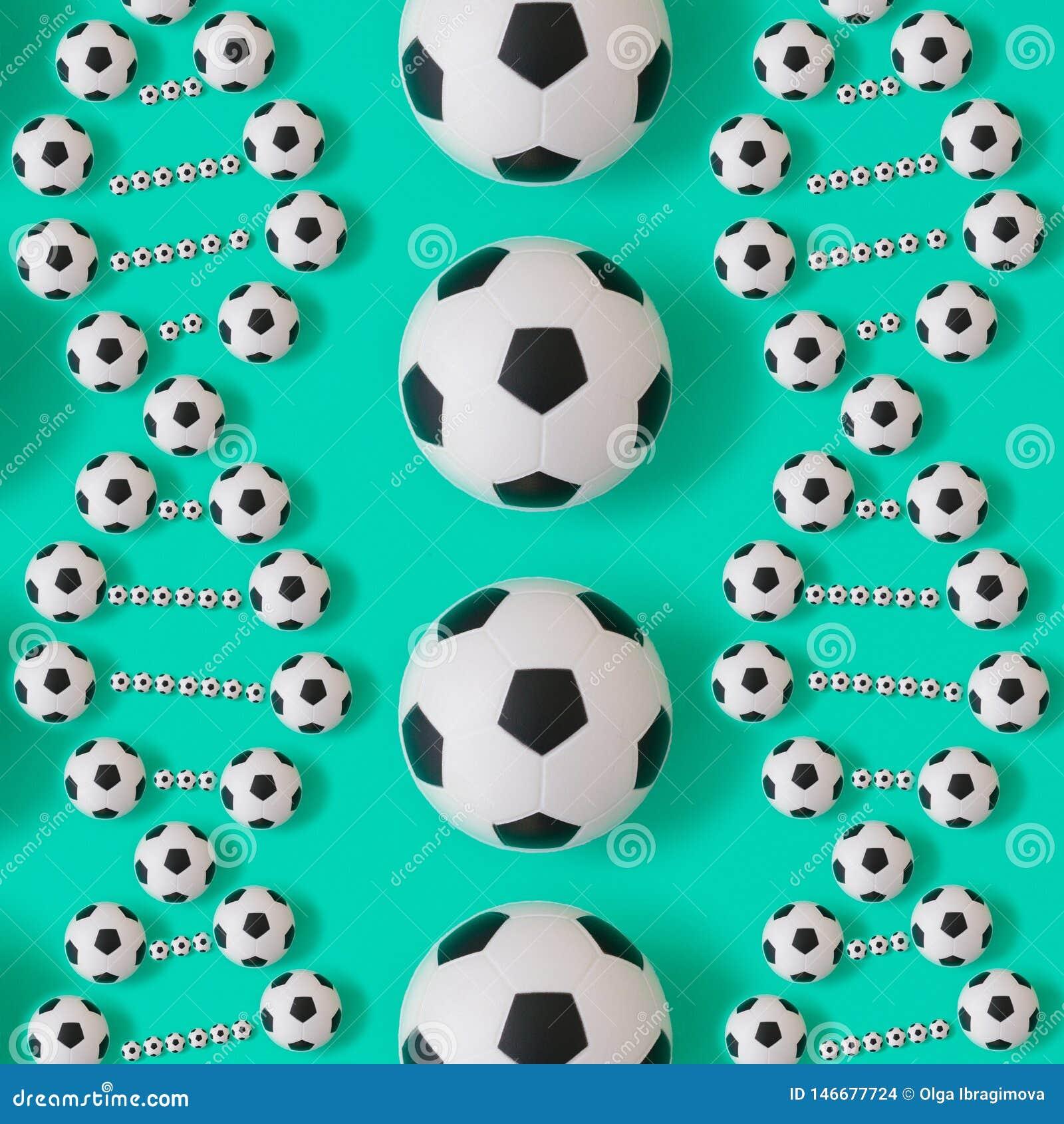 ADN do futebol no fundo azul
