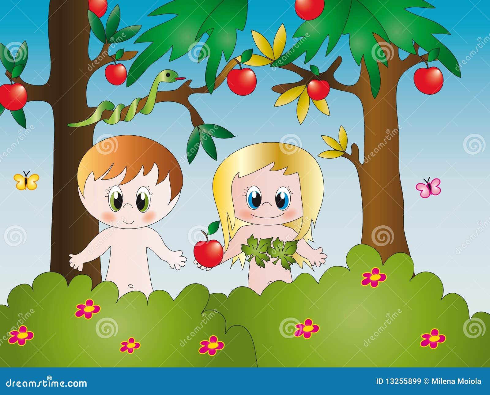 Ad n y eva im genes de archivo libres de regal as imagen for Adan y eva en el jardin de eden