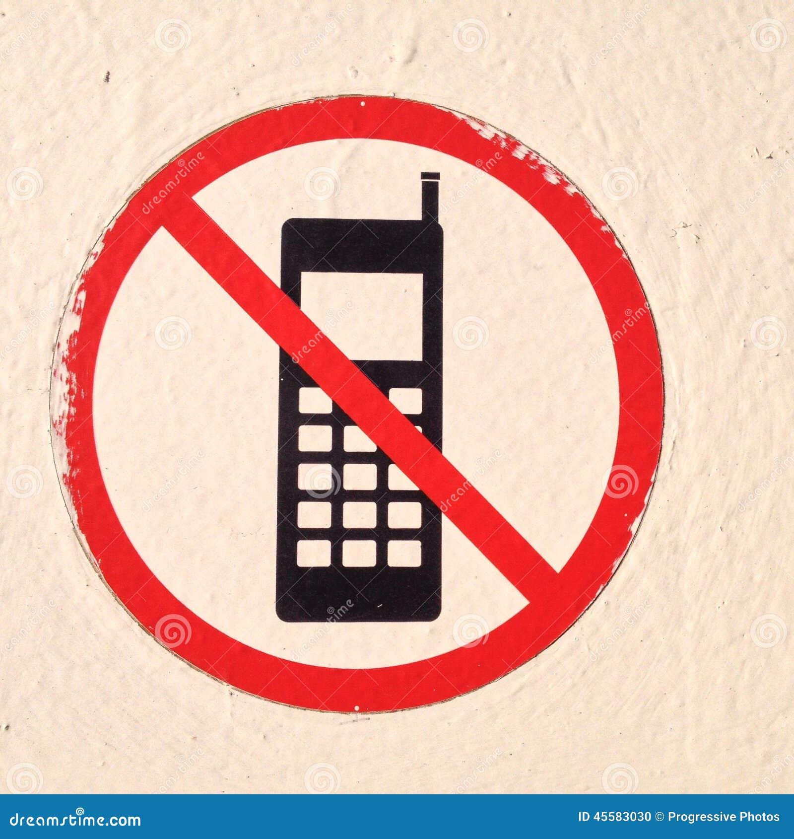 Żadny telefony komórkowi