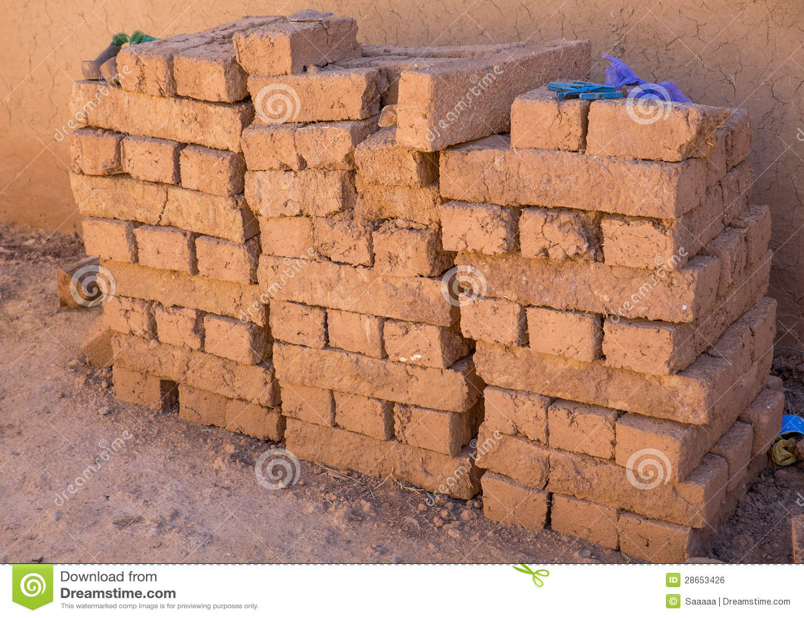 Как из глины сделать кирпичи