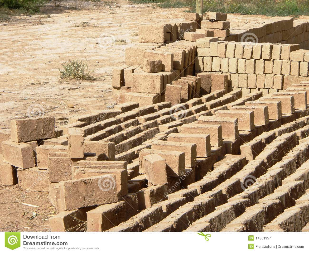 Adobe bricks sustainable building materials 1 stock for Sustainable roofing materials