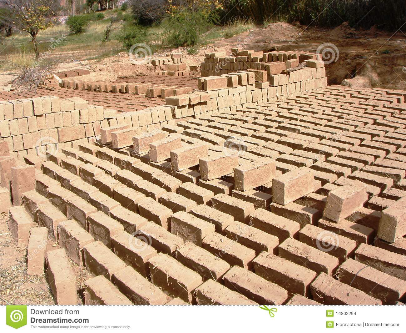 Adobe bricks sustainable building materials 3 stock Building an adobe house