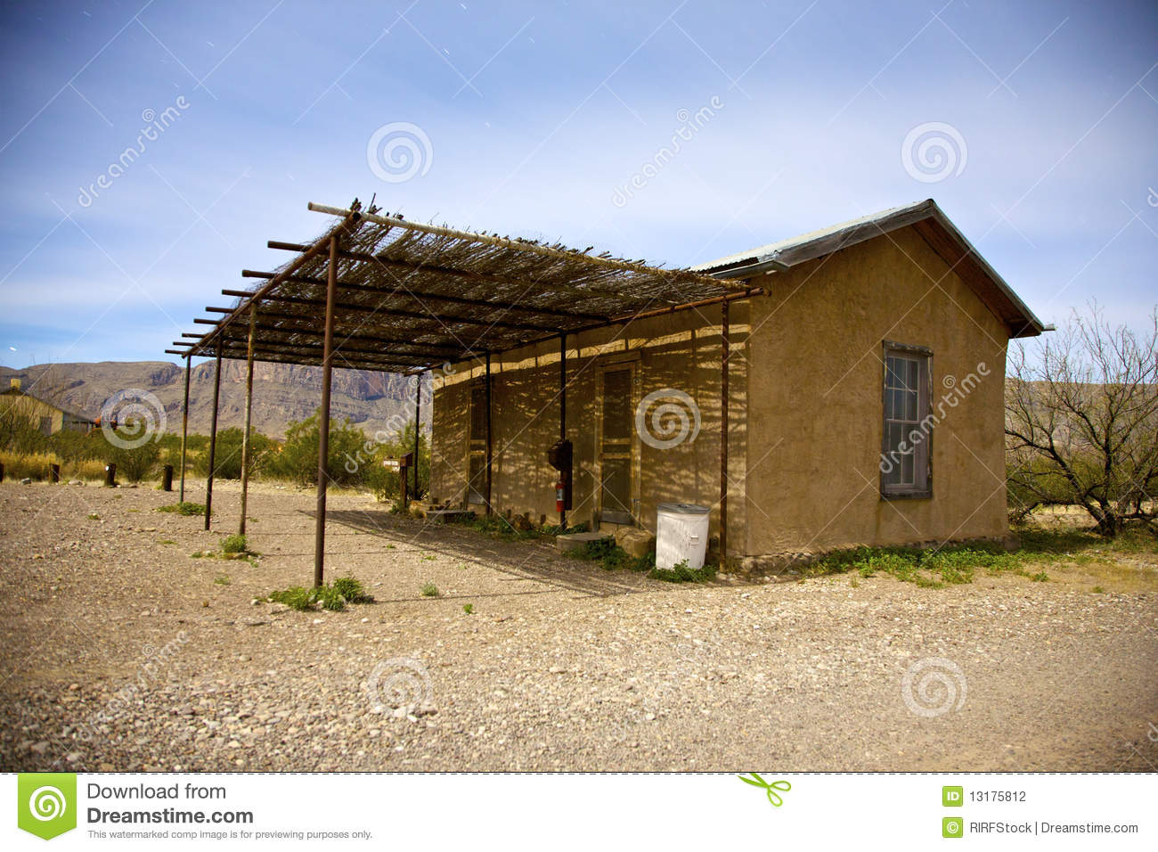 Adobe building stock photography image 13175812 Building an adobe house