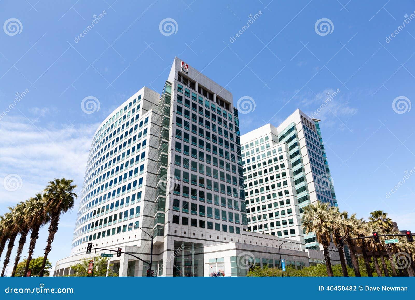 adobe headquarters in san jose california editorial photography adobe offices san jose san