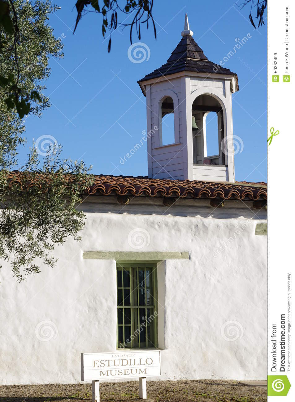 Adobe house casa de estudillo in old town san diego for Adobe home builders california