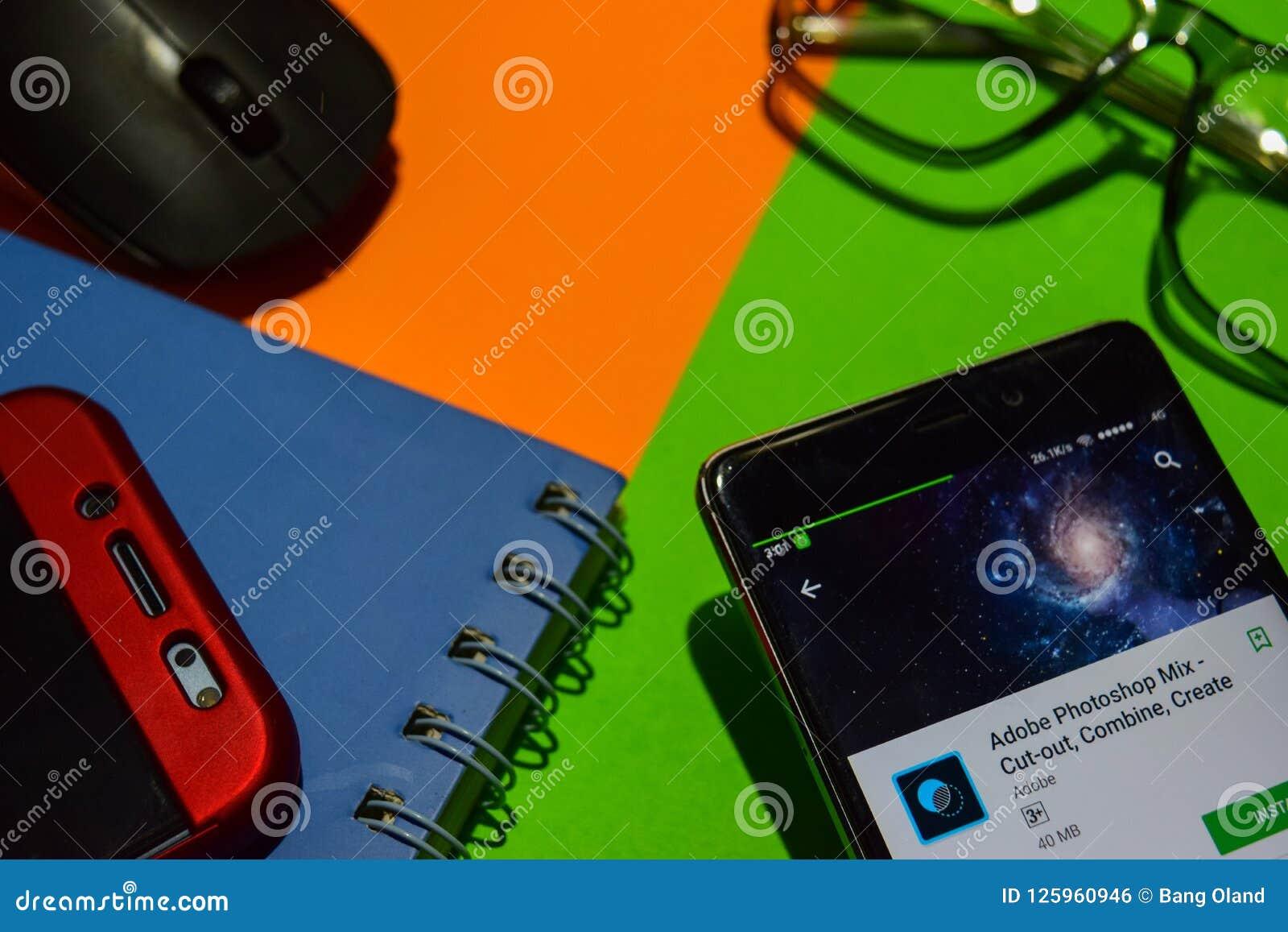 Adobe Photoshop Mix - Cut-out, Combine, Create Dev App On