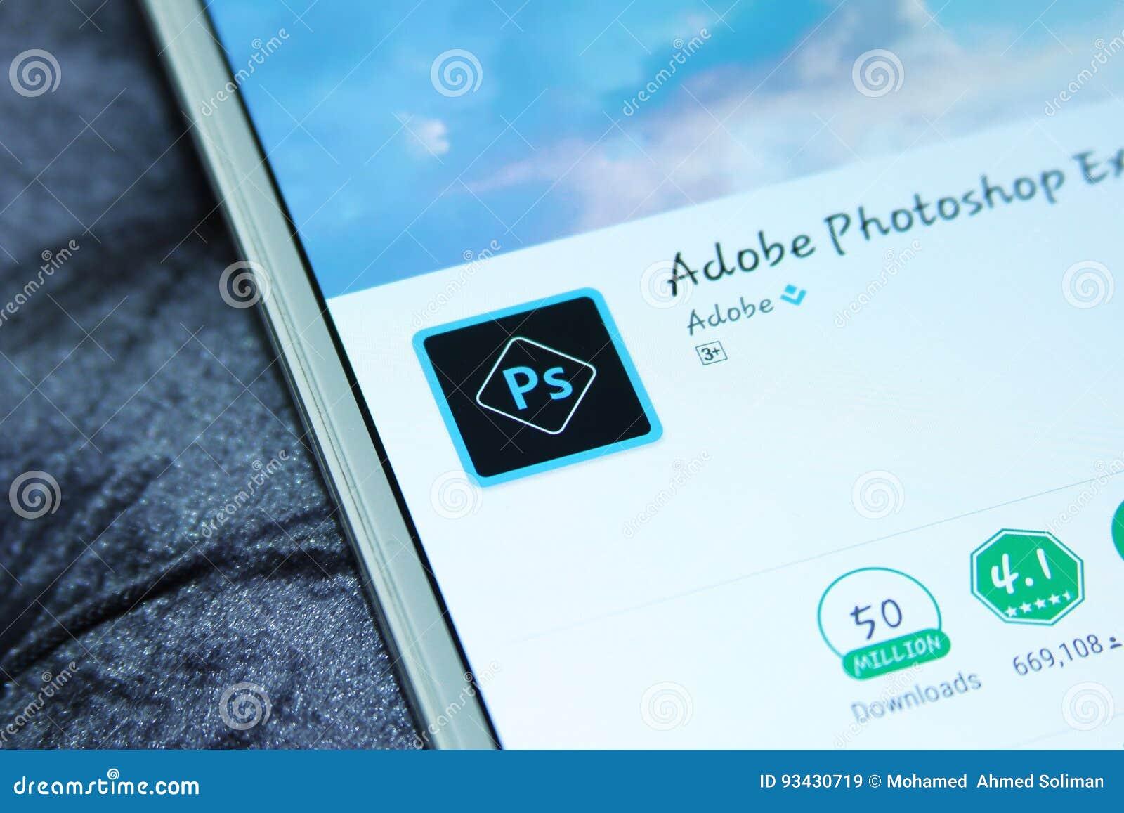 Adobe photoshop mobile app
