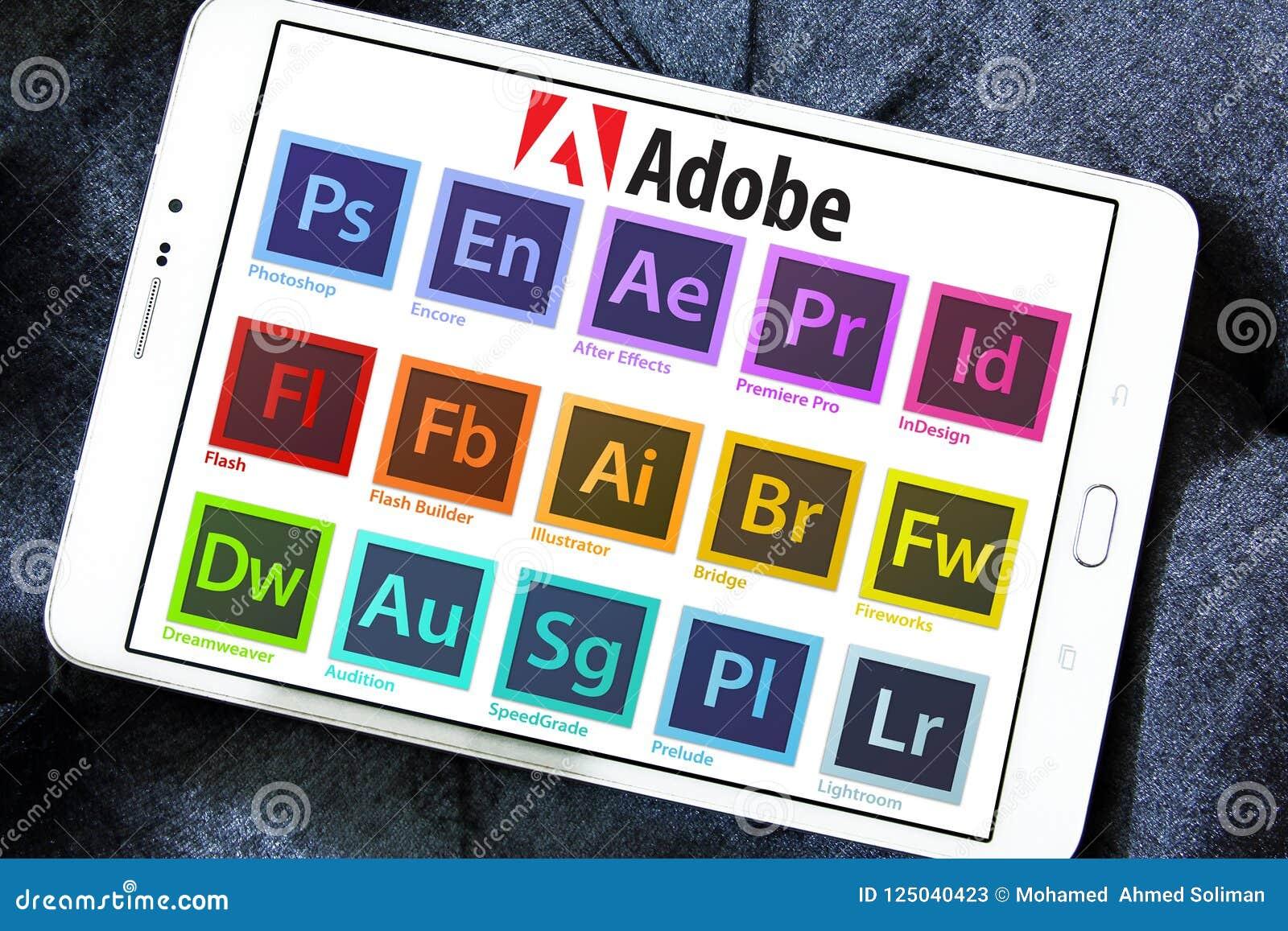 Adobe programme des icônes