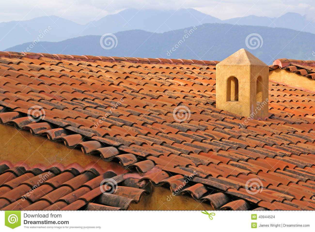 adobe roof in ixtapa mexico stock photo image of mexico