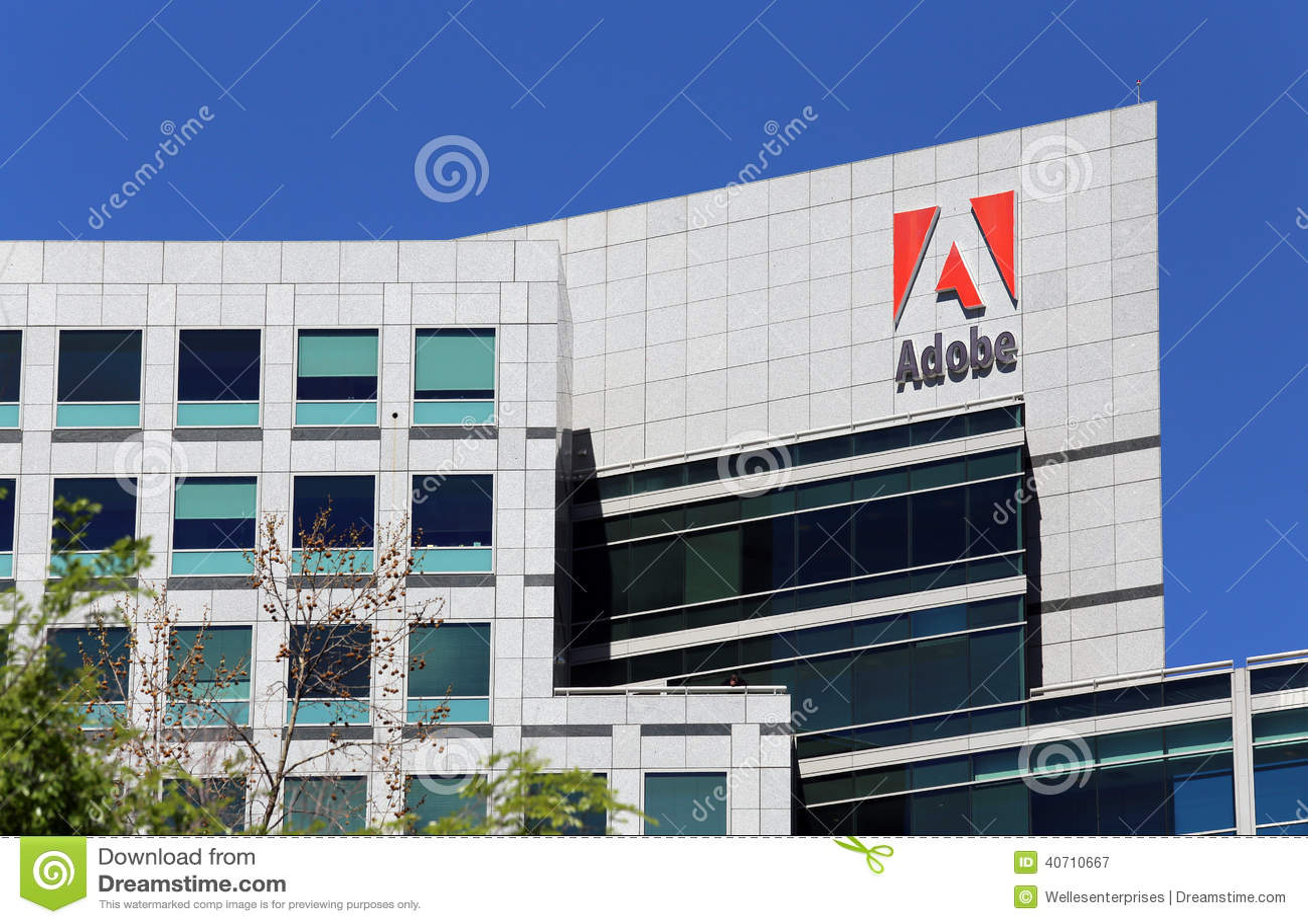 adobe world headquarters royalty free stock photography adobe offices san jose san