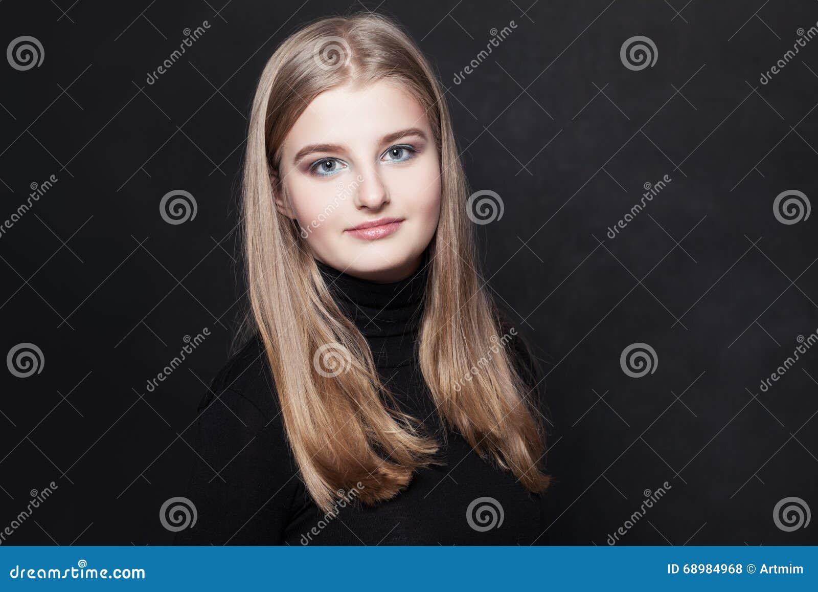 Adolescente de la chica joven