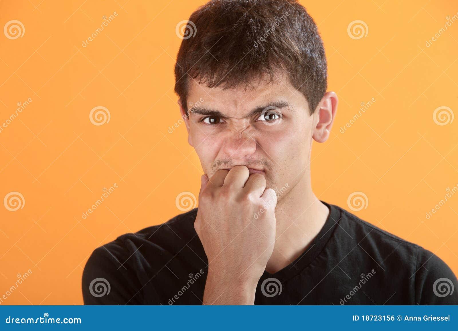 Adolescente frustrada