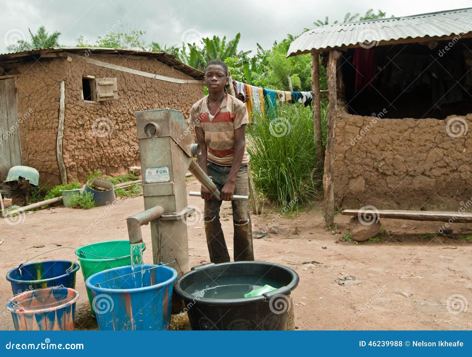 africano perforación