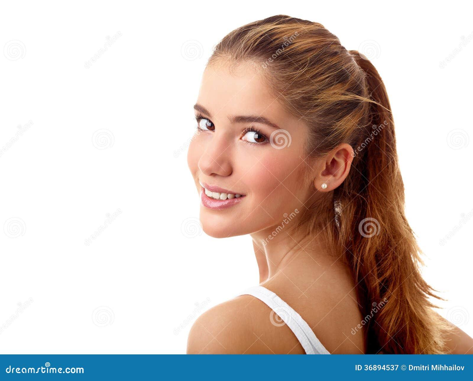 Download Adolescente spensierato immagine stock. Immagine di femmina - 36894537