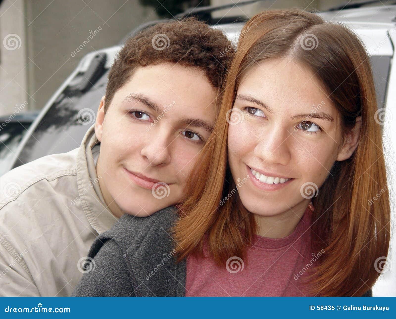 Adolescentes de los pares