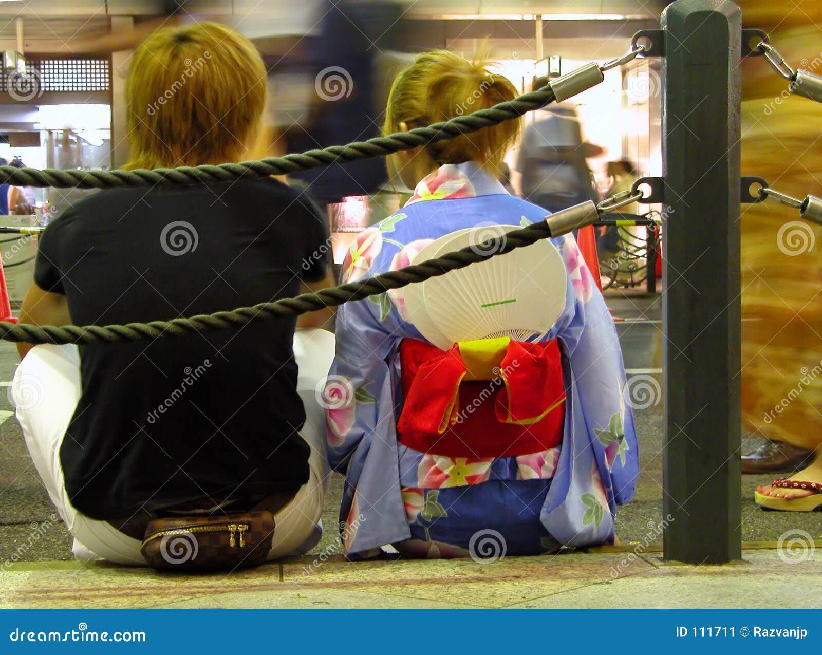 Adolescentes japoneses
