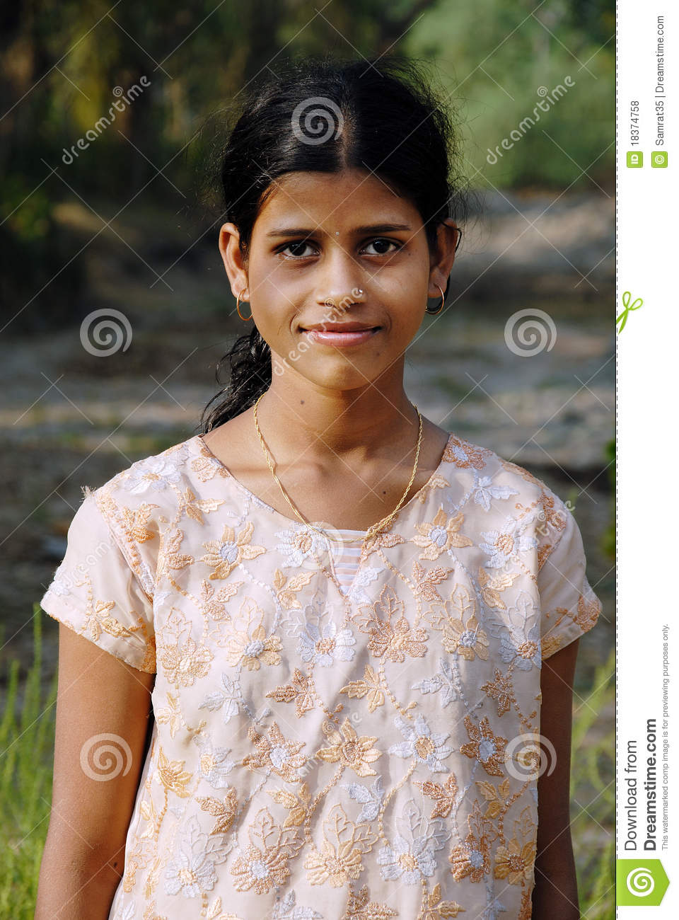 Adolescents Girl In Rural India Editorial Stock Photo -2949