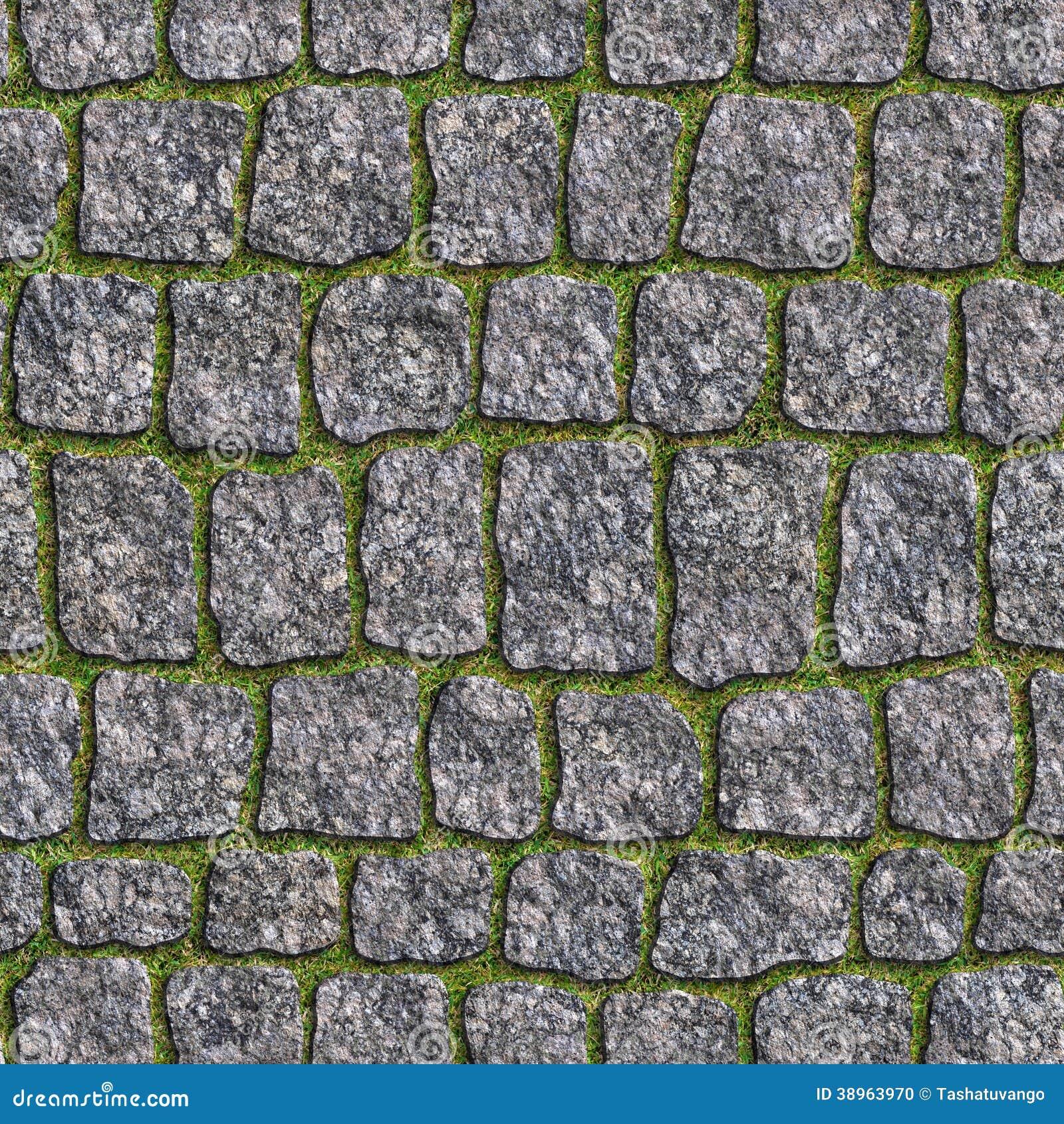 Adoqu n del granito textura incons til de tileable foto for Adoquines de granito