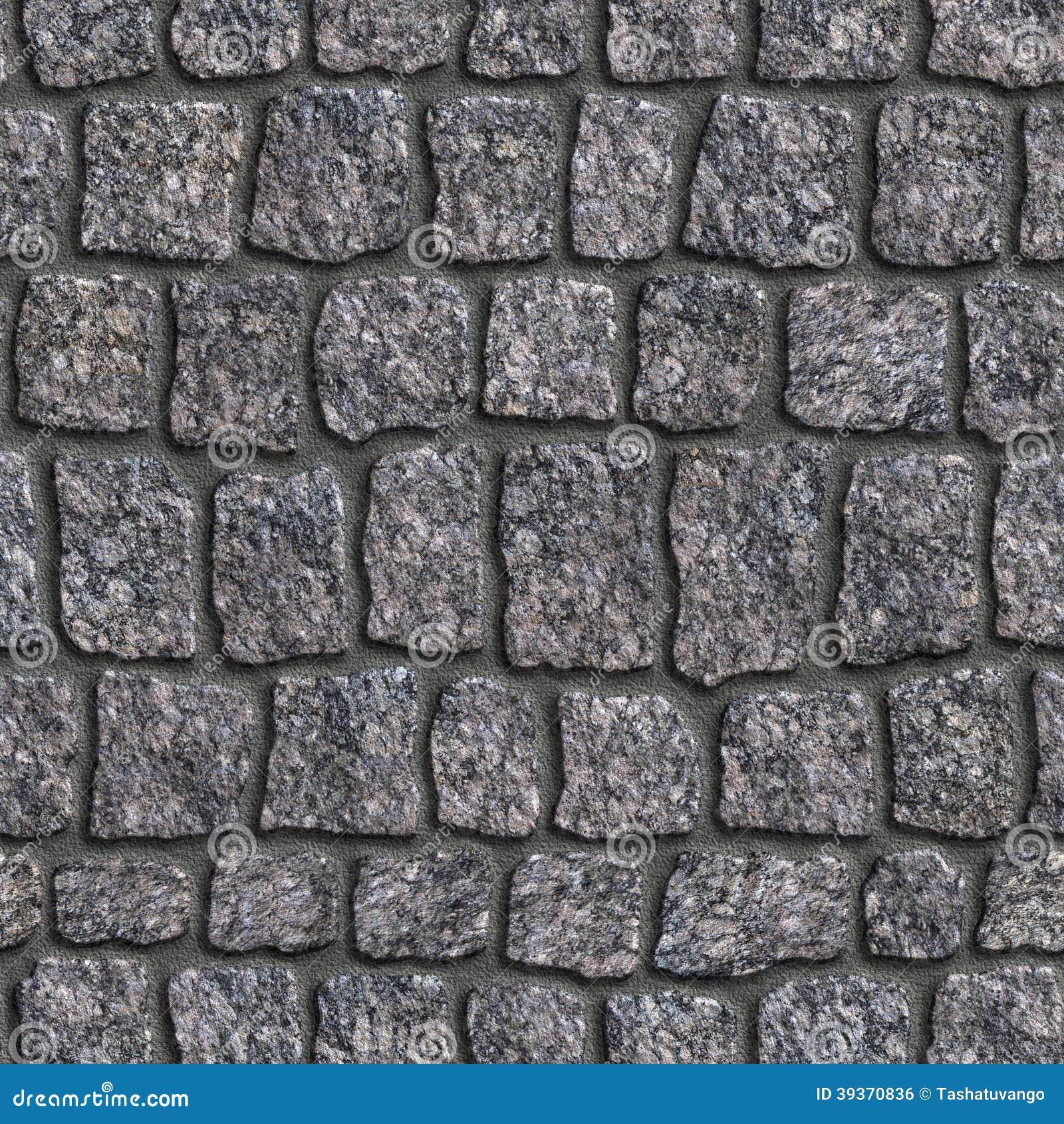 Adoqu n del granito textura incons til de tileable foto - Adoquines de granito ...