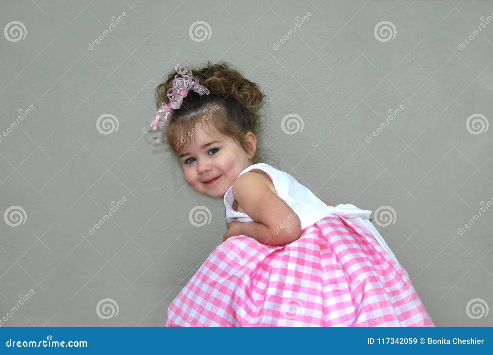 Adorabile in percalle rosa