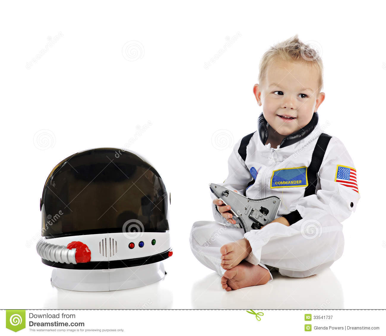 Adorable Baby Astronaut Royalty Free Stock Photography ...