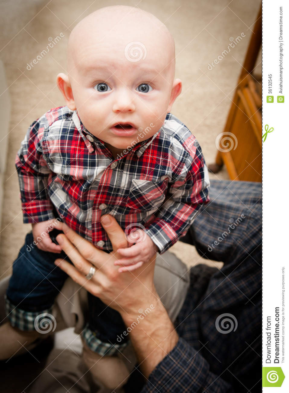 adorable bald baby boy with big blue eyes royalty free stock photo image 36132545. Black Bedroom Furniture Sets. Home Design Ideas