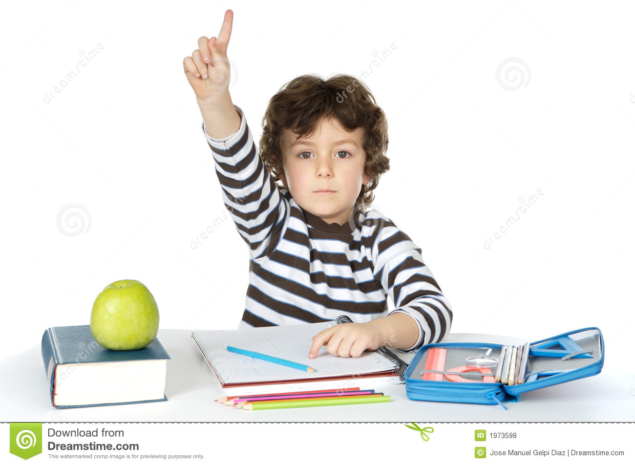 Sitting Area Adorable Boy Studying Royalty Free Stock Photos Image