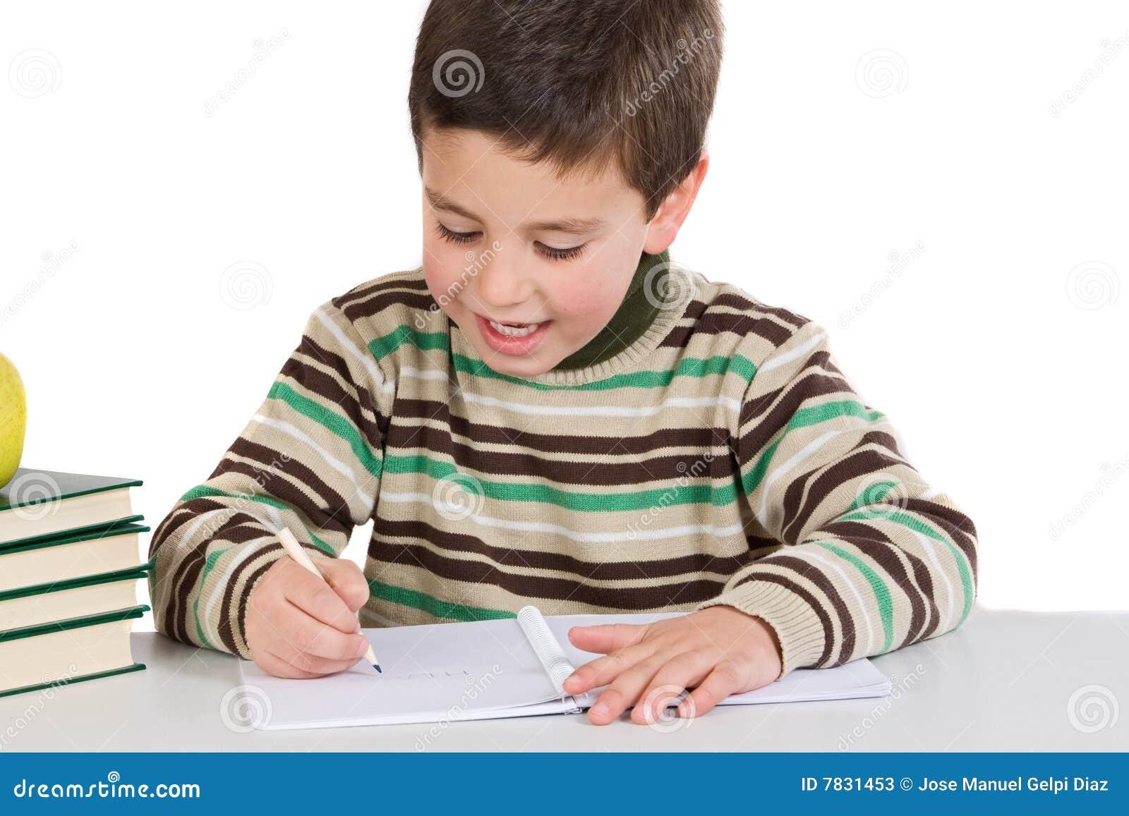 child essay write