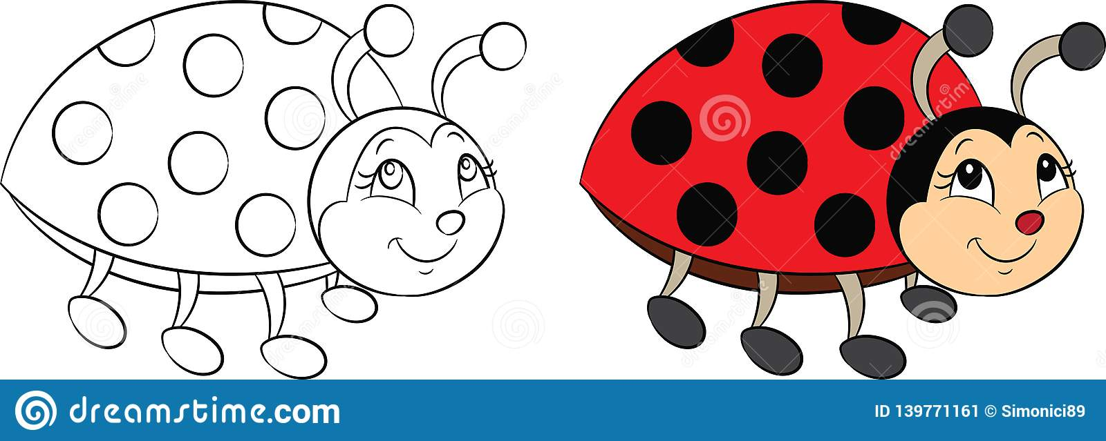 Ten Little Ladybugs Board Book Set For Kids Toddlers with Stickers