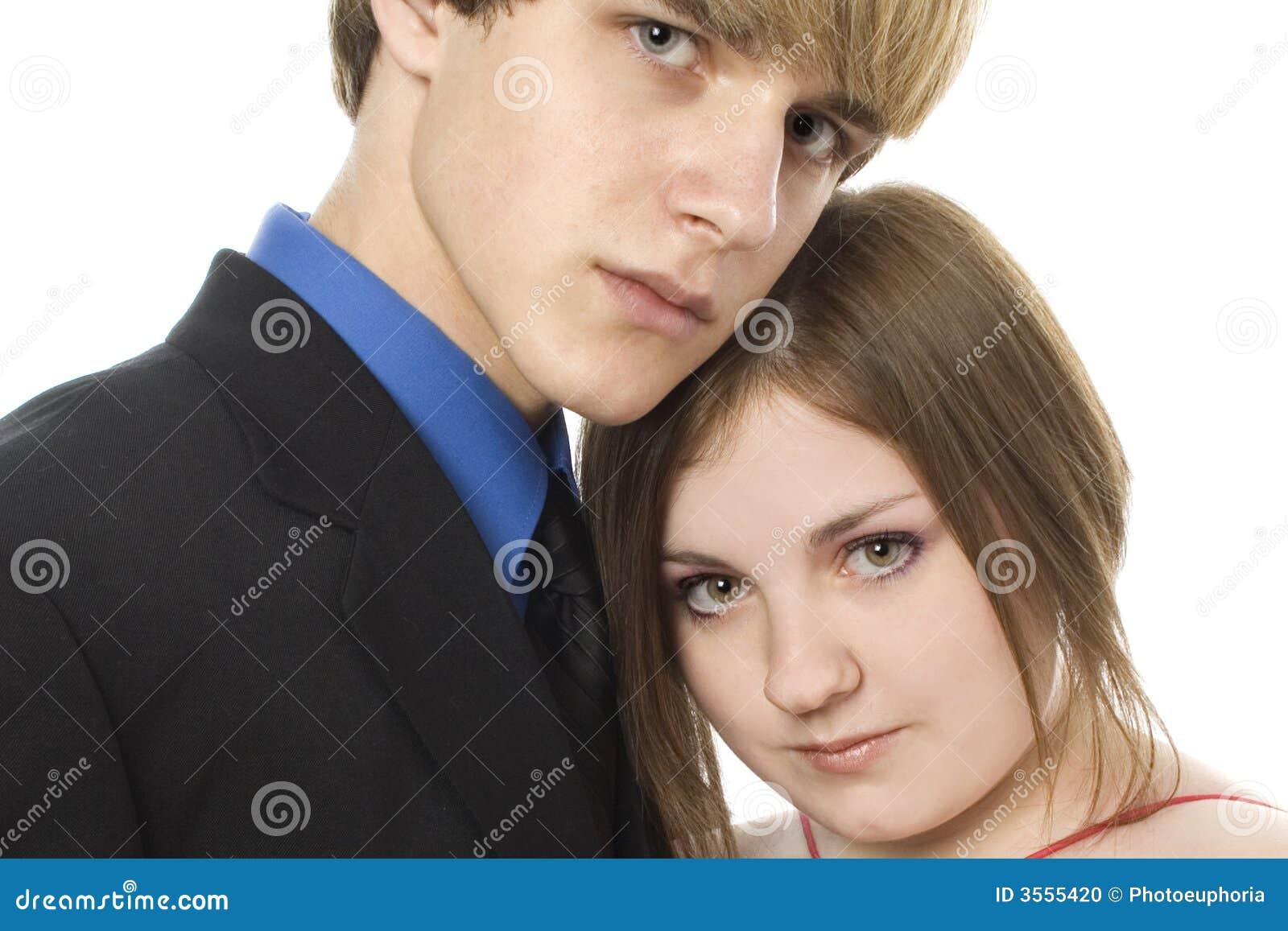 Adorable Teen Couple Stock Photo Image Of Beautiful Cute 3555420