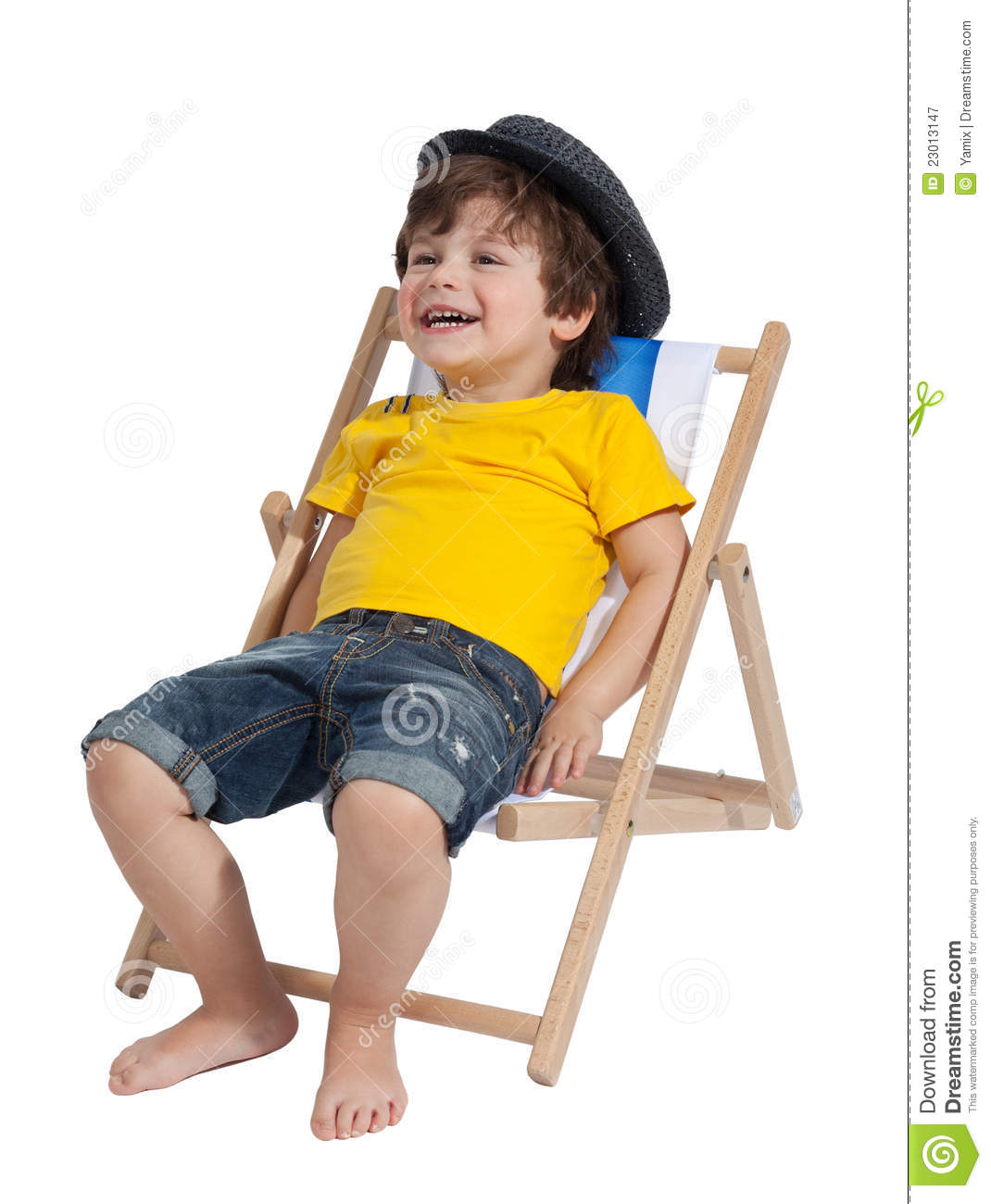 Adorable toddler boy royalty free stock photography for Toddler sitting chair