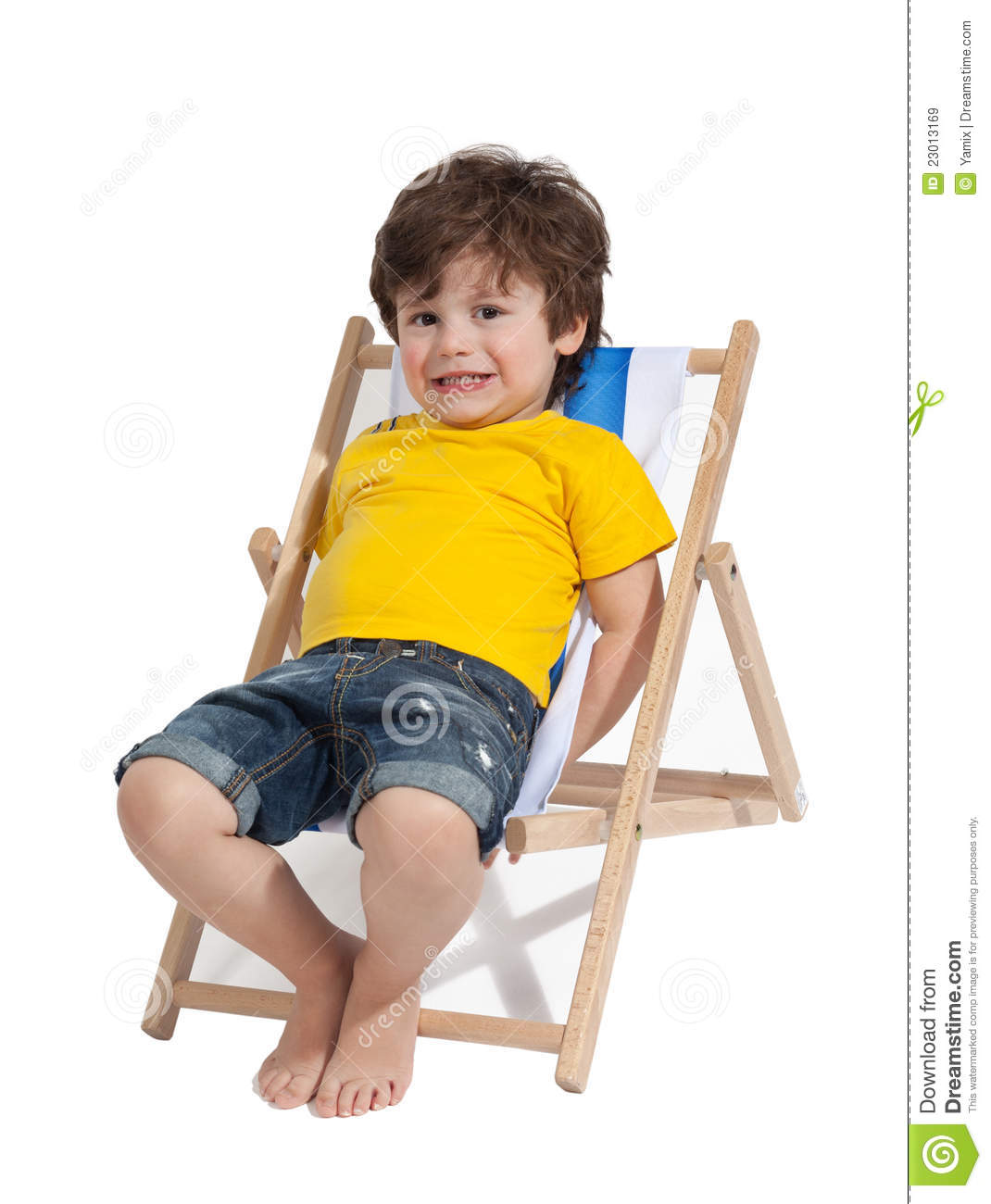 Adorable toddler boy royalty free stock images image for Toddler sitting chair