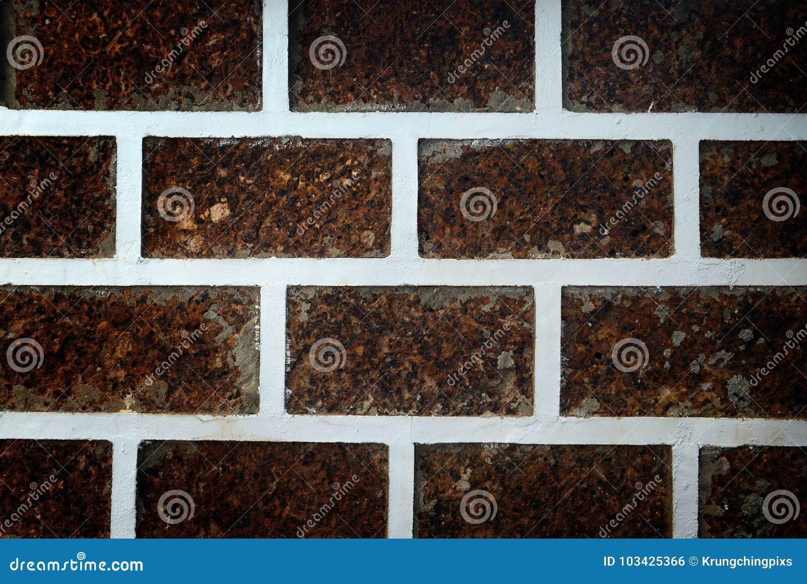 Adorne la pared con la piedra de la laterita
