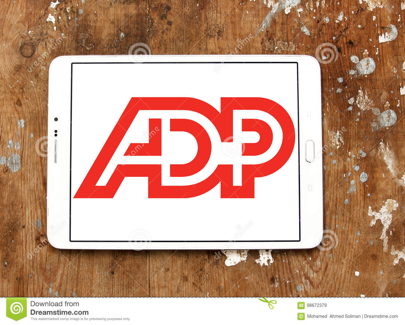 ADP, Automatic Data Processing Logo Editorial Stock Image - Image of
