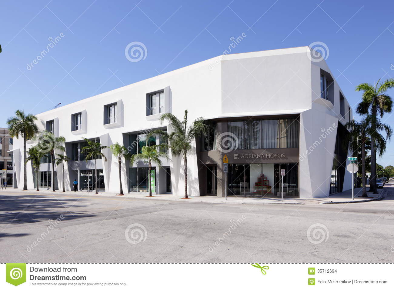 Adriana hoyos furniture store editorial stock image for Furniture miami design district
