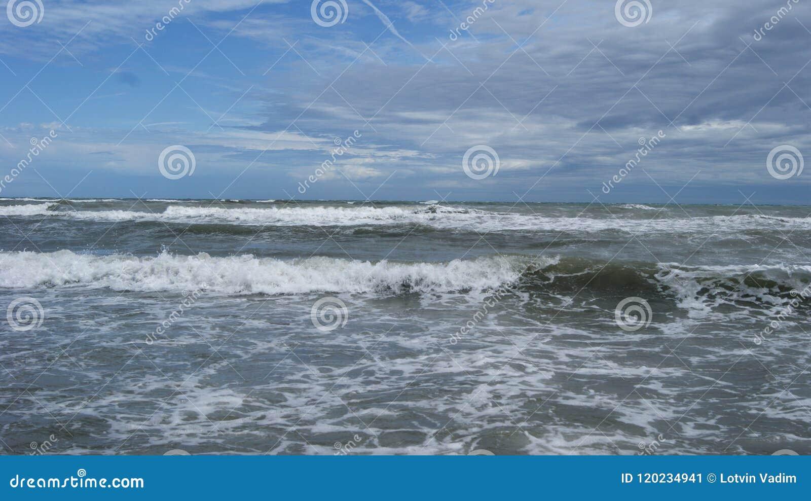 Adriatische Overzees van Italië