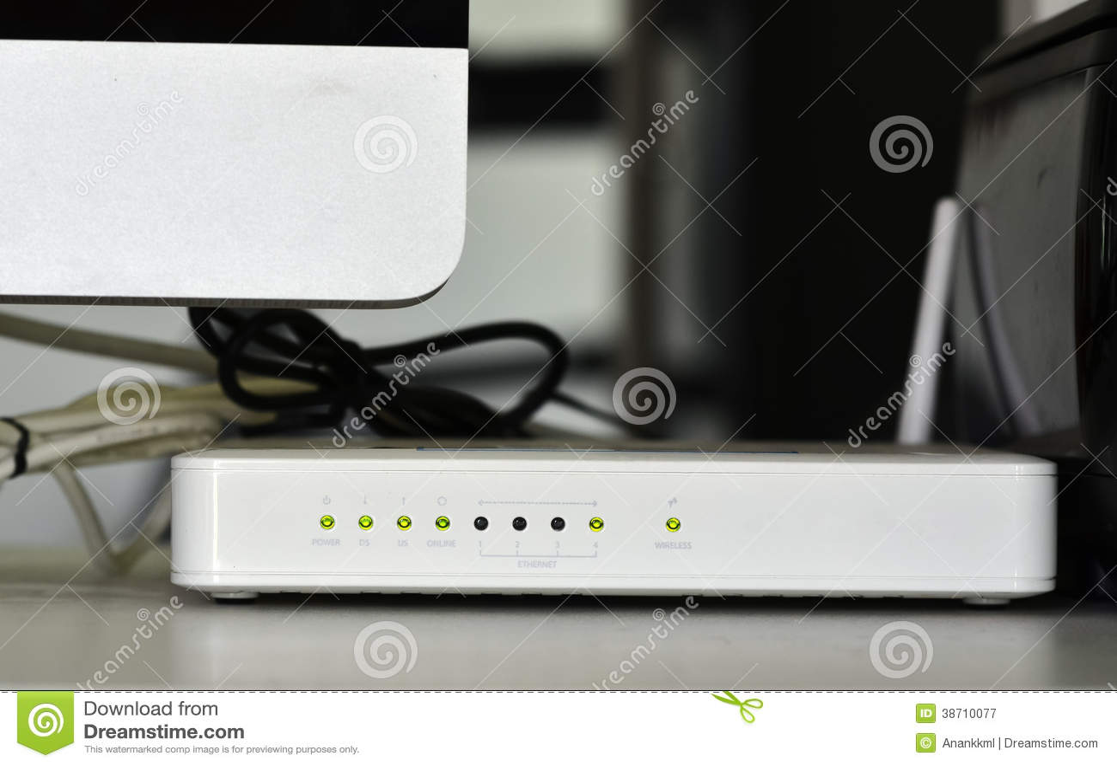 Adsl wifi routera modem