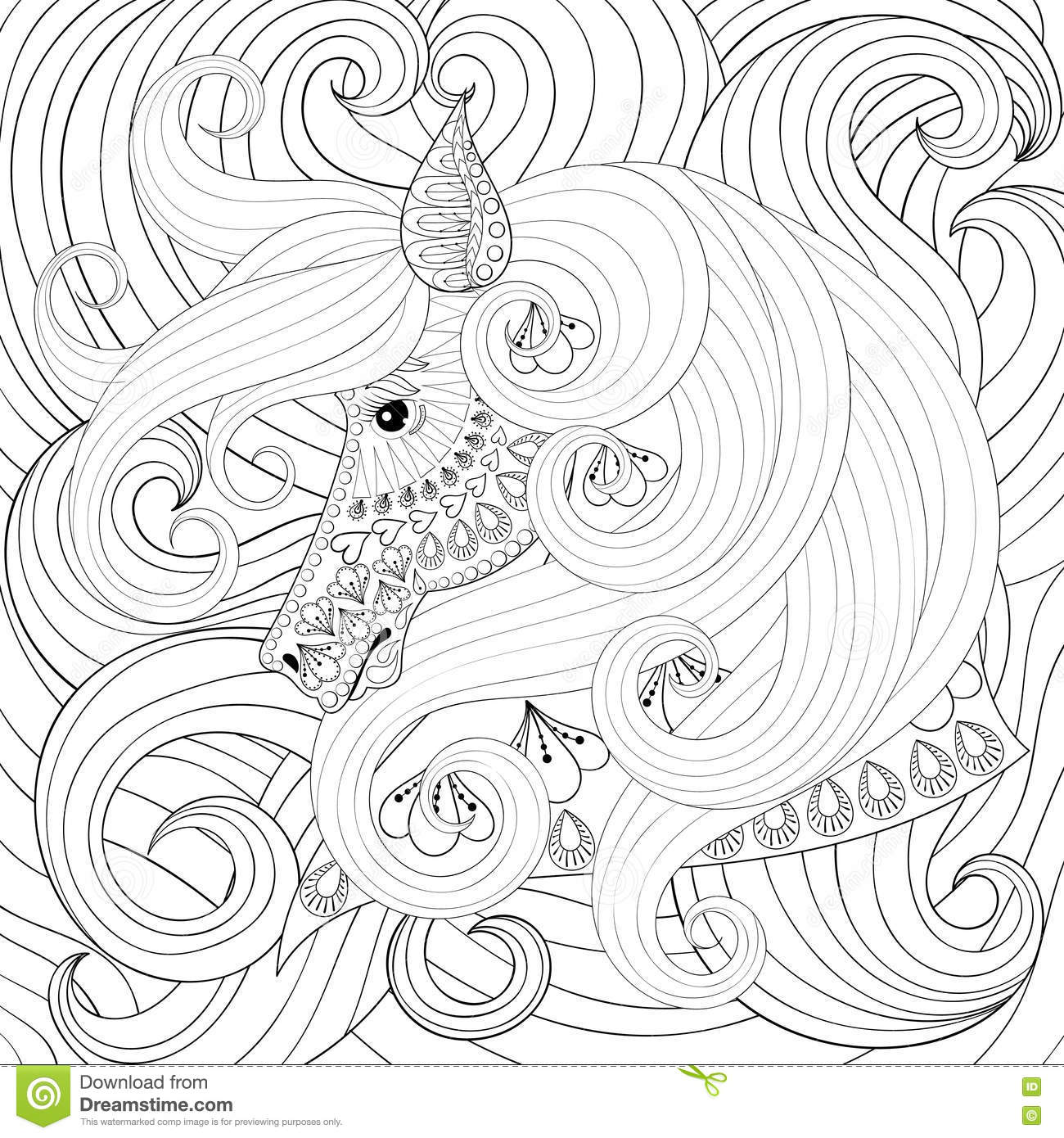 Royalty Free Vector Download Adult Coloring Book
