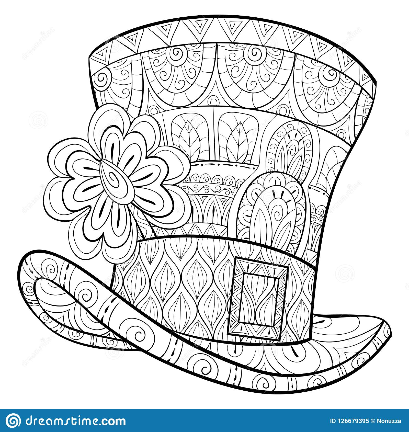 Free Printable Happy St. Patrick's Day Coloring Pages - Momma Can | 1690x1600