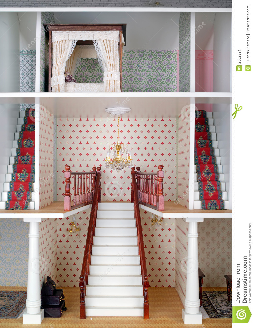 Adult Dolls House Stock Image Image - Dolls house interior