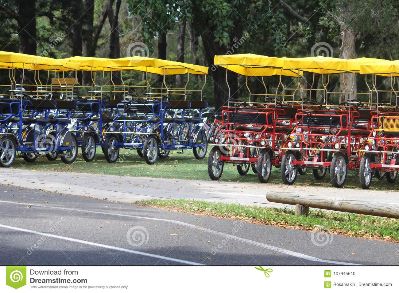 Adult Hire Pedal Cars Stock Photo Image Of Lifestyle 107945510