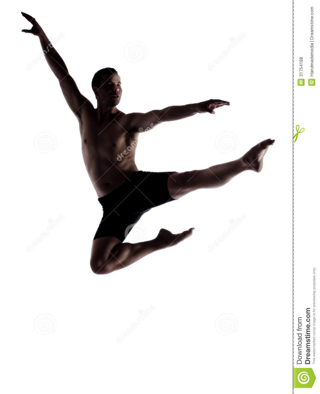 Adult Male Dancer Royalty Free Stock Photos - Image: 31754188