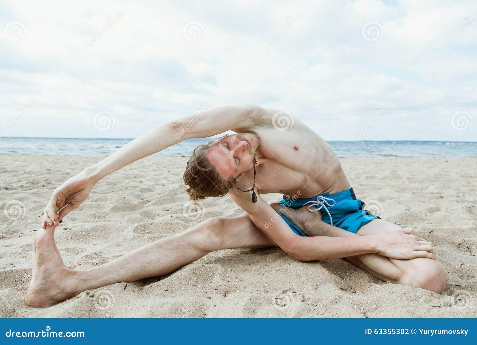 Naked yoga on beach phrase