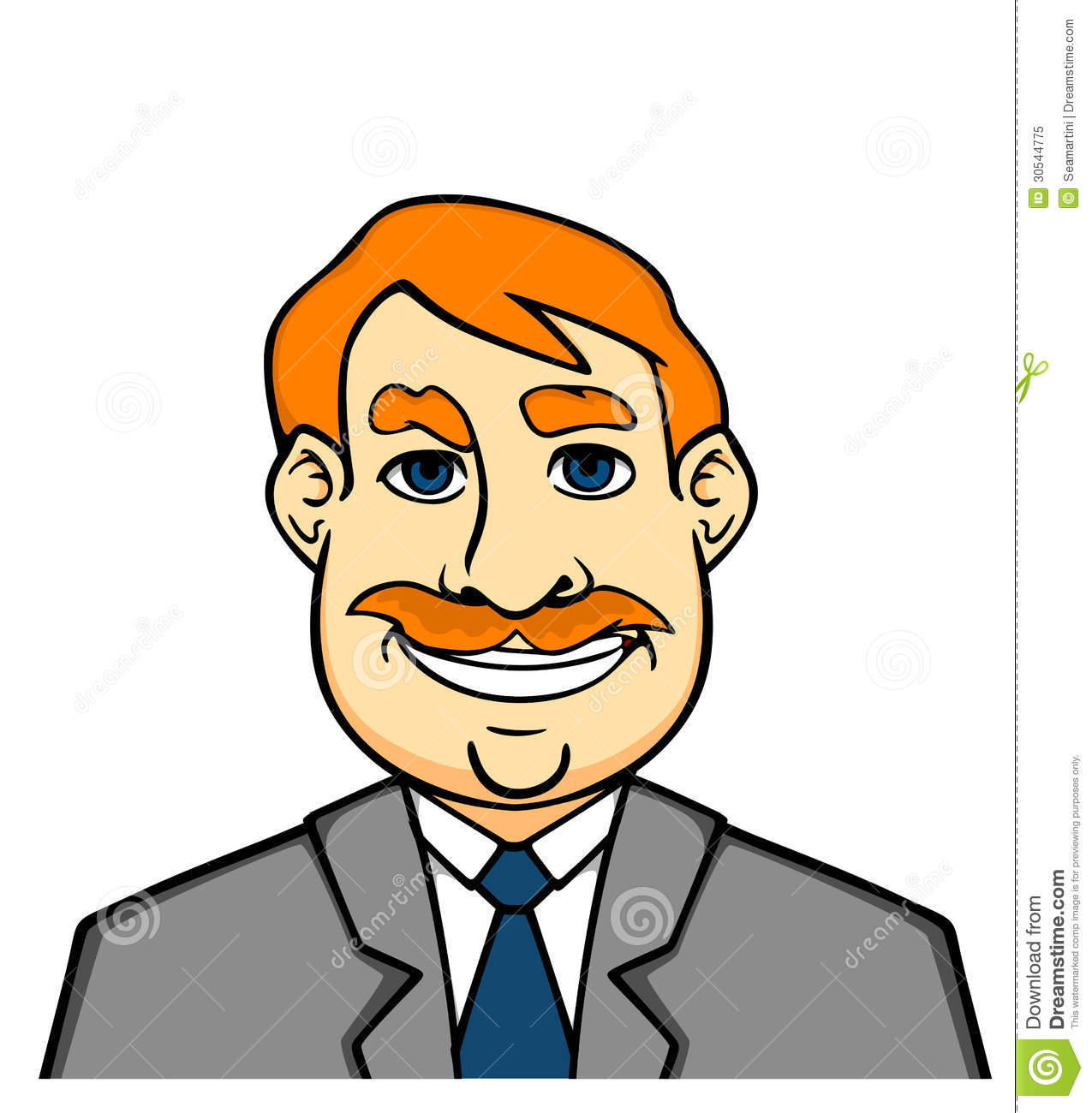 Adult Smiling Man Royalty Free Stock Photo - Image 30544775-3705