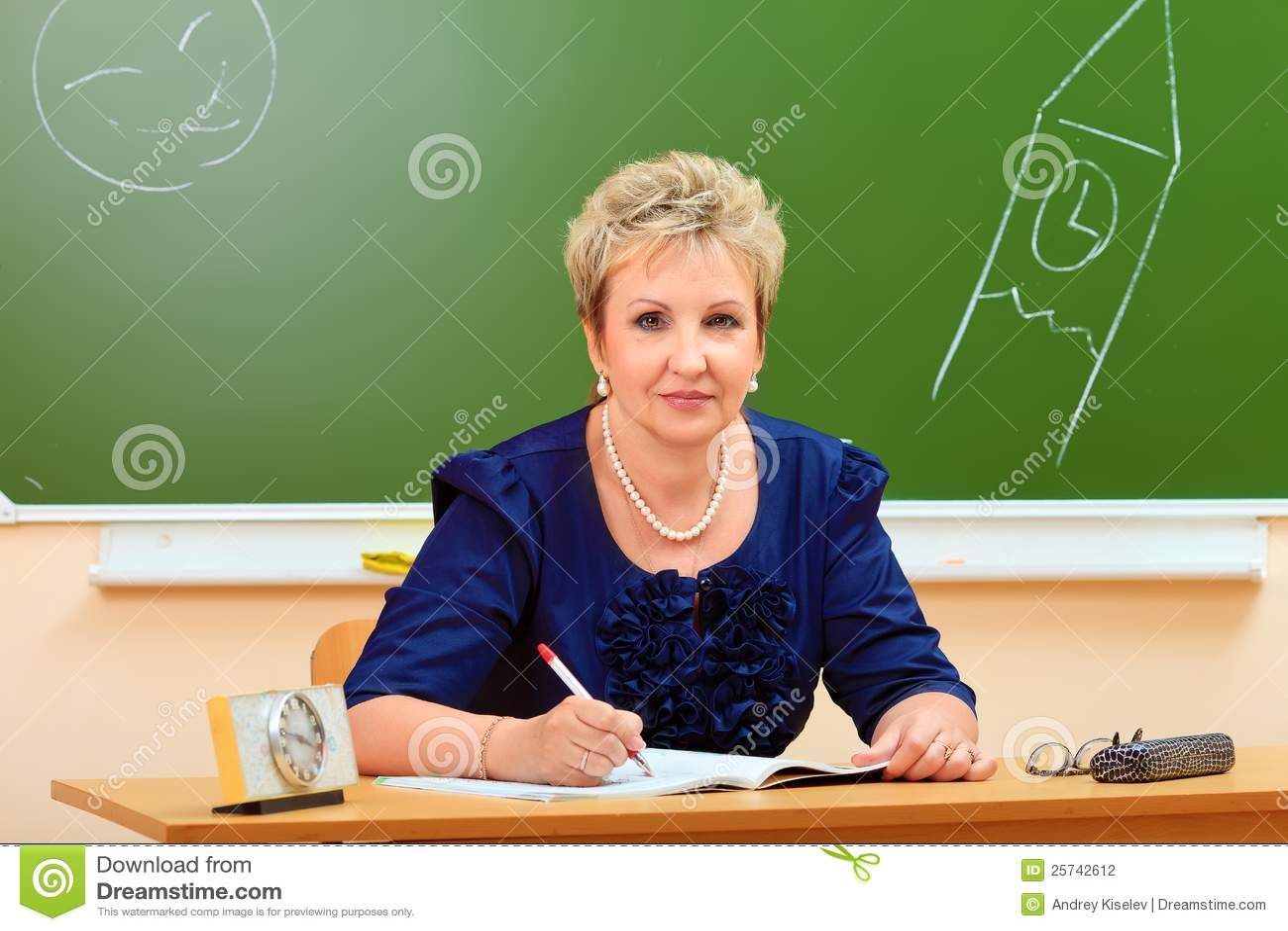 Adult teacher