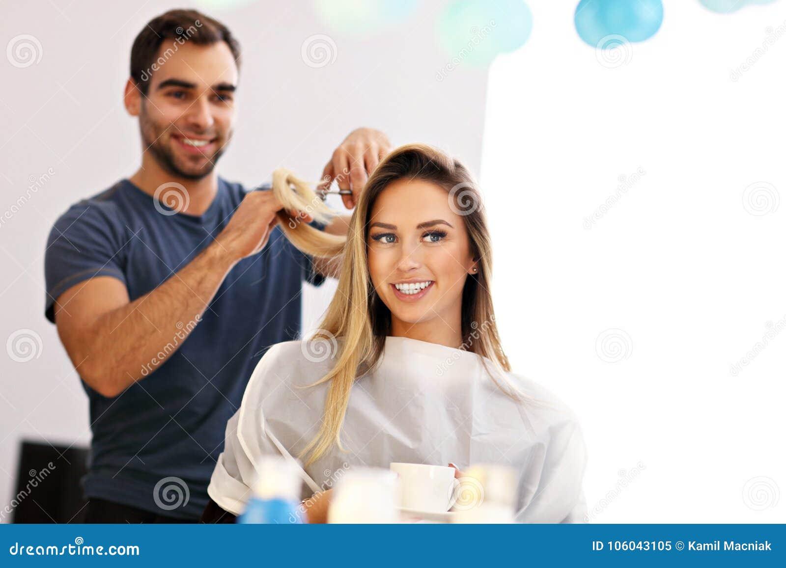 dating a male hairdresser reporter dating quinn dexter
