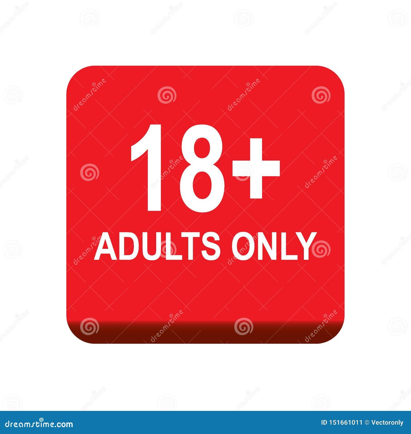 18 adultes plus seulement