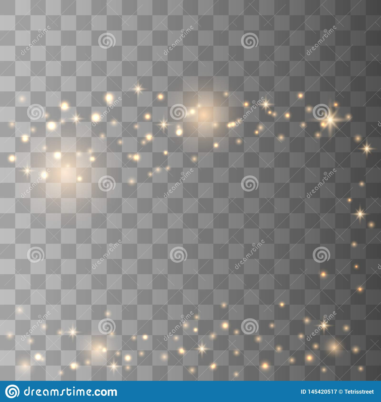 Star dust sparks