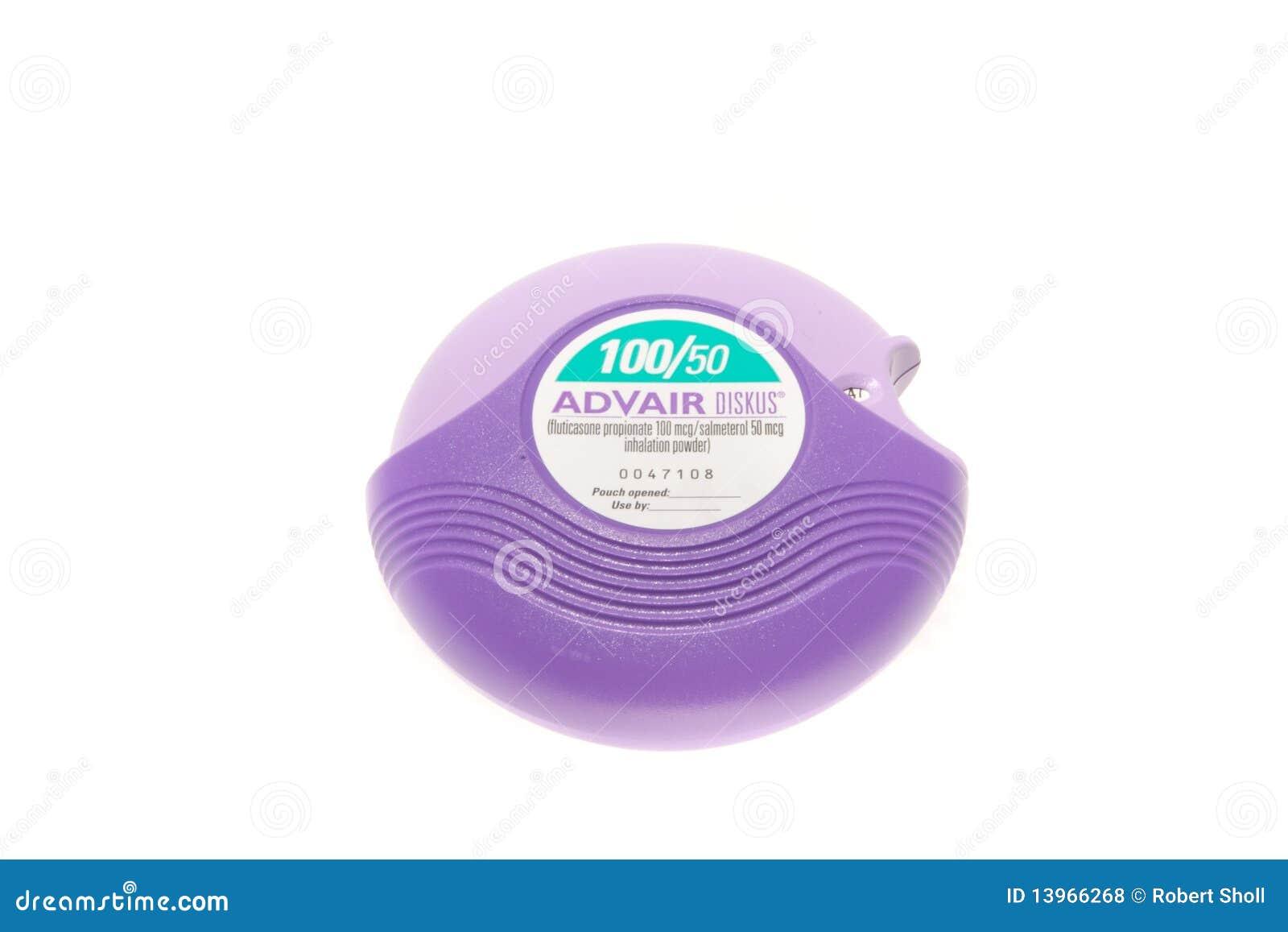 inhaler similar to advair