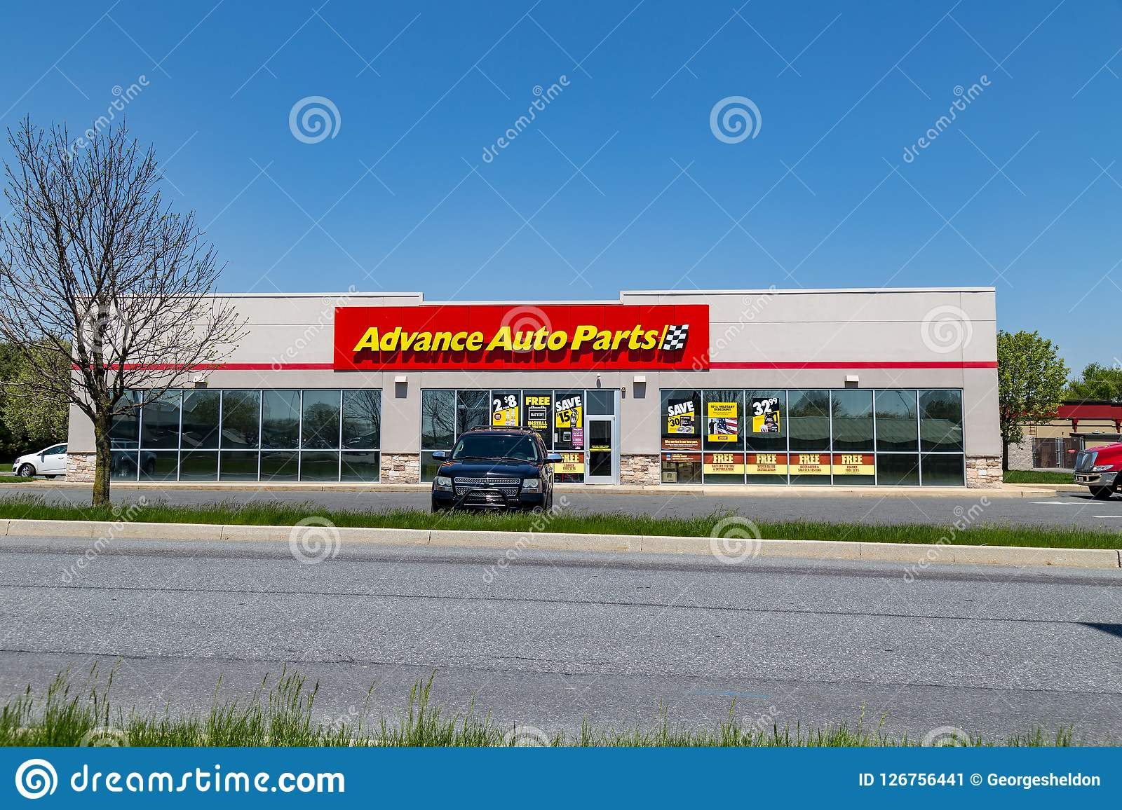 Advance Auto Parts Store Editorial Photo Image Of Tool